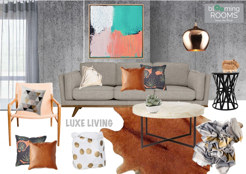 LUXE august moodboard